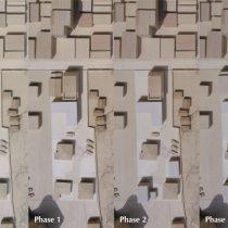 段階的な建替え計画の流れ(Phase0-3)