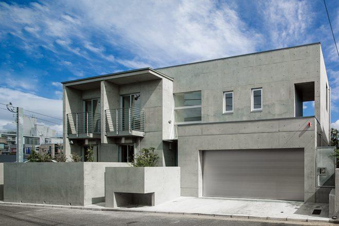 美しが丘5丁目の住宅